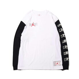 NIKE M J LGC AJ11 CLRBLK LS TEE(ナイキ ジョーダン レガシー AJ11 クリアブラック L/S Tシャツ)WHITE【メンズ 長袖Tシャツ】19HO-S