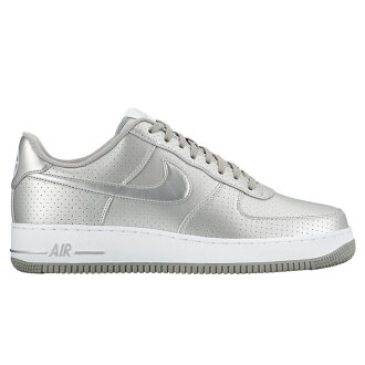 NIKE AIR FORCE 1 ' 07 LV8 (Nike Air Force 1 07 CMOS) METALLIC SILVER/METALLIC SILVER-WHITE 16FA-I