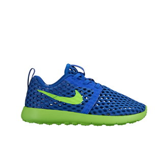 NIKE ROSHE ONE FLIGHT WEIGHT PSV (나이키로시원후라이트웨이트 PSV) RACER BLUE/ELECTRIC GREEN 16 SU-I