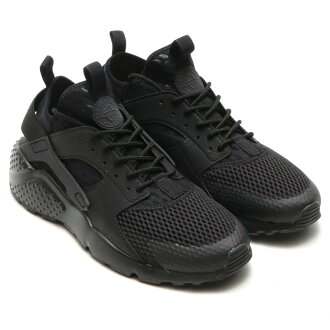 NIKE AIR HUARACHE RUN ULTRA BR (Nike Air halti run ultra Breeze) BLACK/BLACK 16SU-I