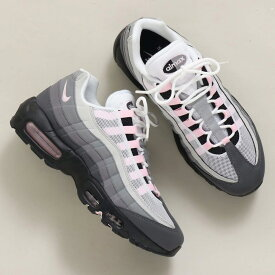 NIKE AIR MAX 95 PRM(ナイキ エア マックス 95 PRM)BLACK/PINK FOAM -GUNSMOKE-GREY FOG【メンズ スニーカー】20SU-I at20-c