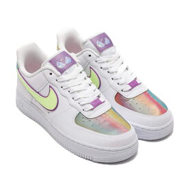 NIKE WMNS AIR FORCE 1 EAS(ナイキ ウィメンズ エア フォース 1 EAS)WHITE/BARELY VOLT-HYPER BLUE【レディース スニーカー】20SU-I at20-c