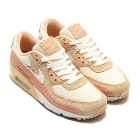 NIKE W AIR MAX 90(ナイキ ウィメンズ エア マックス 90)WHITE ONYX/SAIL-TERRA BLUSH-VACHETTA TAN【レディース スニーカー】20SU-S<br>【JUST DO IT TOKYO PACK】 at20-c