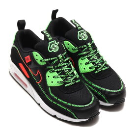 NIKE AIR MAX 90 WW(ナイキ エア マックス 90 WW)BLACK/FLASH CRIMSON-GREEN STRIKE-WHITE【メンズ スニーカー】20FA-I at20-c