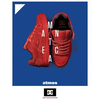 DC SHOES×atmos MANTECA (디 씨 슈즈 × 엣 모스 카 로타리안) RED