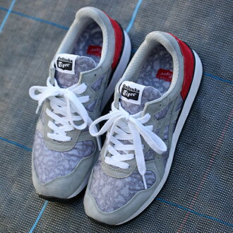 "Onitsuka Tiger TIGER ALLIANCE""NUMBER(N)INE×atmos""(onitsukataigaaraiansu""号码九×阿托摩斯"")GREY/RED 14AW-S"