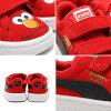 PUMA SUEDE SESAME STR ELMO KIDS (Puma Swede Sesame Street Elmo kids) HIGH RISK RED/BLACK 16SP-I