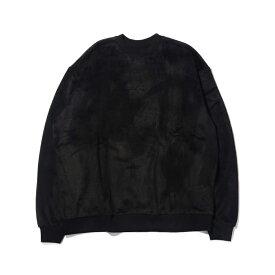 RVCA SHERPA CREW(ルーカ シェルパ クルー)BLACK【メンズ 長袖Tシャツ】19FA-I