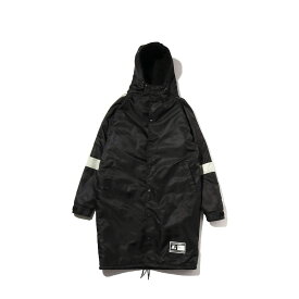 STARTER BENCH COAT (スターター ベンチコート)BLACK【メンズ コート】18FW-I