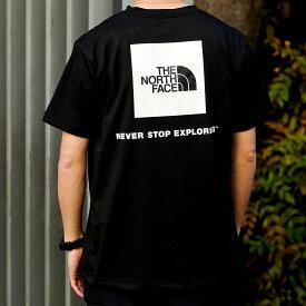 THE NORTH FACE S/S BACK SQUARE LOGO TEE(ザ・ノース・フェイス ショートスリーブ バックスクエア ロゴ ティー)BLACK【メンズ 半袖Tシャツ】21SS-I at20-c