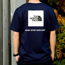 THE NORTH FACE S/S BACK SQUARE LOGO TEE(ザ・ノース・フェイス ショートスリーブ バックスクエア ロゴ ティー)TNF NAVY【メンズ 半袖Tシャツ】21SS-I at20-c