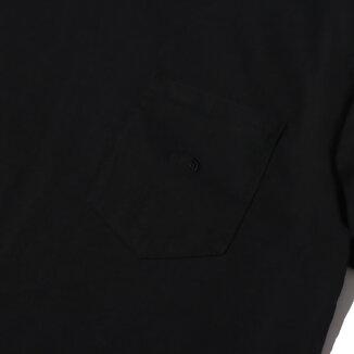 THE NORTH FACE PURPLE LABEL 7oz H/S Pocket Tee(ザ・ノース・フェイス パープル レーベル 7オンス ハーフスリーブ ポケット ティー)Black【メンズ 半袖Tシャツ】21SS-I