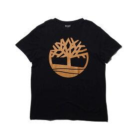 Timberland SLS SS Seasonal logo tee (ティンバーランド SLS SS シーズナル ロゴ ティー)BLACK【メンズ Tシャツ】19SS-I