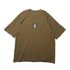 Timberland YCC SS Tee Back linear (ティンバーランド YCC SS ティー バック リニア)MARTINI OLIVE【メンズ Tシャツ】19SS-I