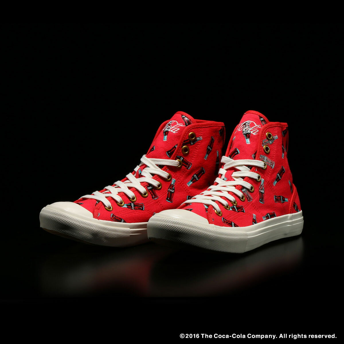 UBIQ×COCA-COLA NATHELIE H(ユービック×コカコーラ ナタリー H)RED【メンズ レディース スニーカー】16FW-S
