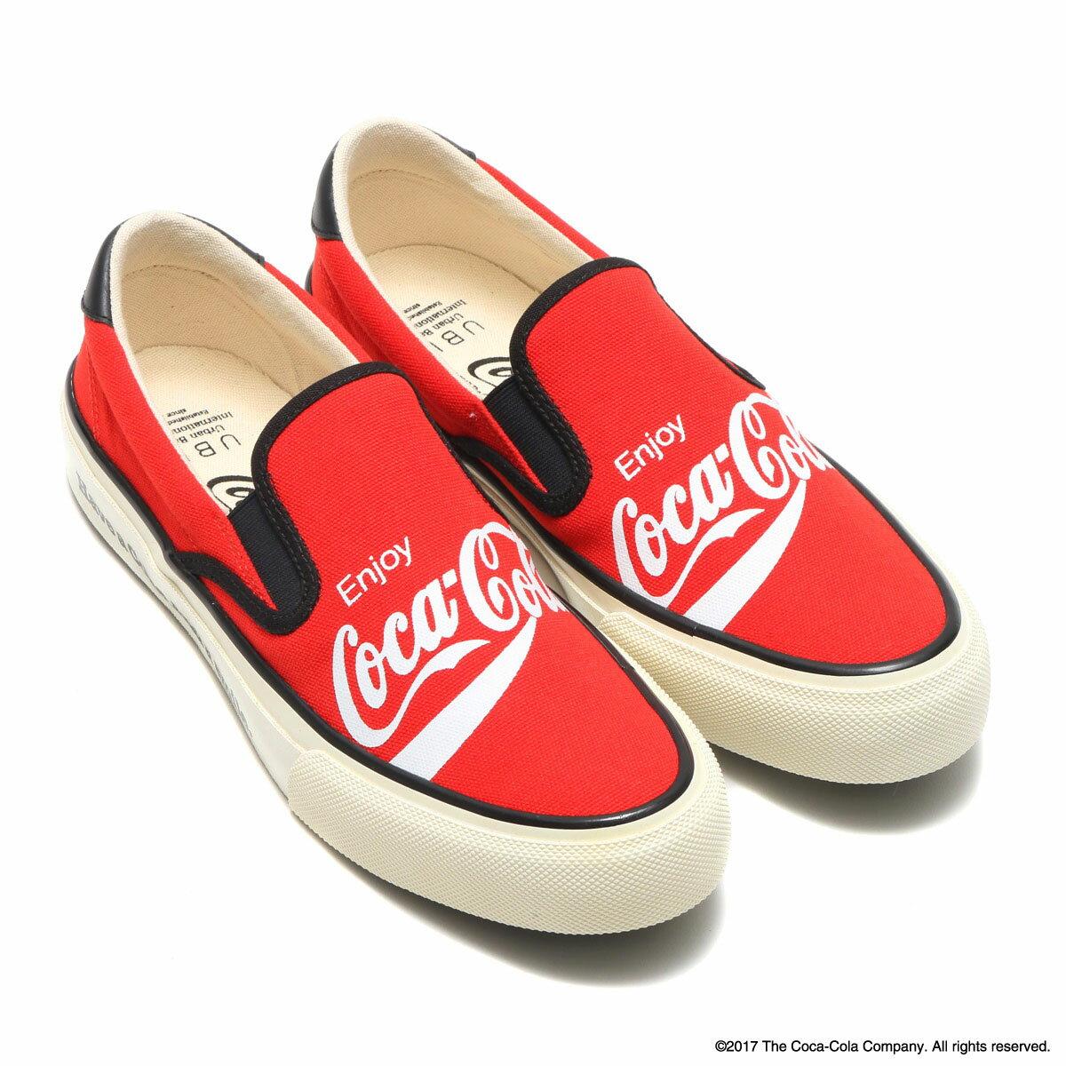 Coca-Cola by UBIQ HOGGE(コカ・コーラ バイ ユービック ホッジ)RED【メンズ レディース スニーカー】17FW-S