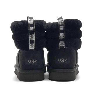 UGGFluffMiniQuilted(アグフラッフミニキルテッド)BLACK【レディースブーツ】19FA-I
