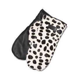 UGG Dalmatian Mittens(アグ ダルメシアン ミトン)BLACK/WHITE【メンズ レディース 手袋】20FW-I