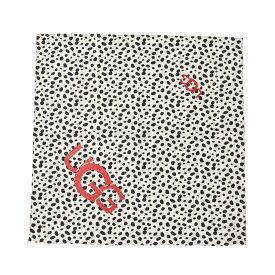 UGG W Dalmatian Bandana (アグ ダルメシアン バンダナ)BLACK/WHITE【レディース バンダナ】20FW-S