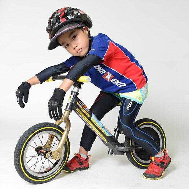 【ランバイク世界チャンピオン使用モデル】「勝つためのインナー」FIXFIT MAXトップス キッズモデル。サドルやタイヤ、フレームなどのカスタム同様、ストライダーの操作が向上!プロテクターと合わせて子供の肌を守ります。生地ロット2010