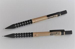 Pentel Smash スマッシュ シャープペンシル 0.5mm 限定品 ブラックゴールド クリアブラック
