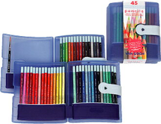 Van Gogh watercolor pencils set 45 color (プラケ − ス入り) Royal Terrence Inc.