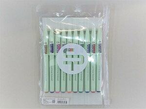 CDT筆タッチサインペン 10本セットクラフトデザインテクノロジー