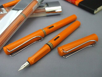 LAMY Lamy Safari fountain pen 2009 limited edition Orange