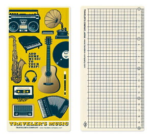 TRAVELER'S notebook2019 トラベラーズノート下敷き(レギュラーサイズ)