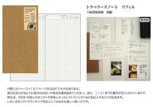★メール便配送可能★TRAVELER'S notebookミドリ トラベラーズノートリフィル日記リフィル