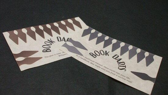 BOOK DARTS ブックダーツ12P BAG(ブロンズ・ステンレス)