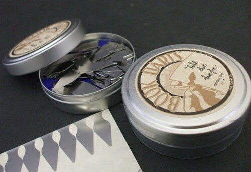 BOOK DARTS ブックダーツステンレス 缶入り50pcs