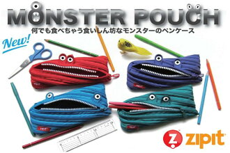 ZipIt zip it MONSTER pouch of monsters (pen) 02P12Oct15