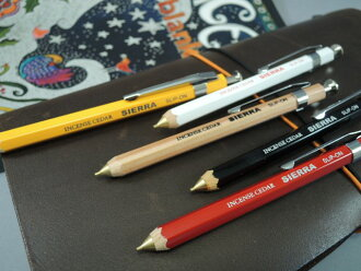 SLIP-ON SIERRA tree-axis mechanical pencil (short type)
