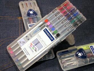 STAEDTLER ステッドラートリプラスゲル liner ゲルインクボールペン 6 color set (classic colors)