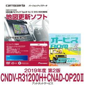 カロッツェリア HDD楽ナビ 地図更新ソフト オービスセット品 CNDV-R31200H+CNAD-OP20II 在庫有