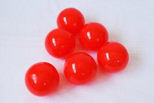 ボールプール用ボール(赤)125個入り