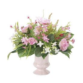 観葉植物 造花 光触媒 人工植物 フラワー フェイク おしゃれ アートフラワー 玄関 リビング ピンク