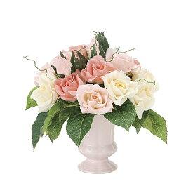 観葉植物 造花 光触媒 アートフラワー フェイク フラワー リビング おしゃれ 玄関 人工植物 ピンク バラ