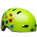ベル 子供 ヘルメット リルリッパー BELL LIL RIPPER グリーンモンスターズ UC(47-54cm) 7104360