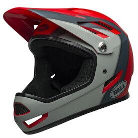 ベル BMX フルフェイス ヘルメット サンクション BELL SANCTION マット クリムゾン/スレート/グレー Mサイズ(55-57cm) 7100157