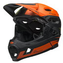 ベル フルフェイス ヘルメット スーパー DH ミップス BELL SUPER DH Mips ファストハウス マットグリーンオレンジ Lサイズ(58-62cm) 70…