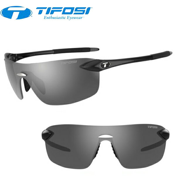 TIFOSI (ティフォージ) 自転車 サングラス VOGEL2.0 ウ゛ォーゲル2.0 グロスブラック・スモーク 1160400270