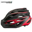 キャノンデール ヘルメット ラディウス CANNONDALE RADIUS RED/BK S/M(52-58cm) CH4607U54SM 自転車