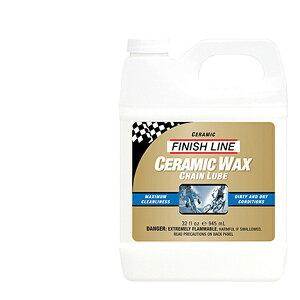 FINISH LINE フィニッシュ ライン セラミック ワックス チェーン ルーブ 945ml ボトル TOS06503 自転車 ケミカル