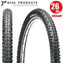 【2本セット】 マウンテンバイク タイヤ GIZA Products ギザ クリッター プロ 26x2.10 BLK