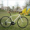 【即納】 【在庫あり】 プログレッシブ クロスバイク PROGRESSIVE Racing (プログレッシブ レーシング) FRD-180 ホワイト 【クロスバイ…