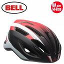 【BELL ロードバイク ヘルメット】 「BELL Crest R ベル クレストR」 マットホワイト/レッド/ブラックスティング UA(54-61) 7072960 ロ…