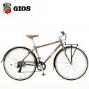 2018 GIOS (ジオス) ESOLA (イソラ) ブラウン クロスバイク