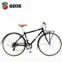 ジオス クロスバイク ジオス イソラ GIOS ESOLA ブラック 自転車